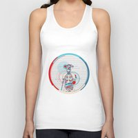 anatomy Tank Tops featuring Anatomy by infloence