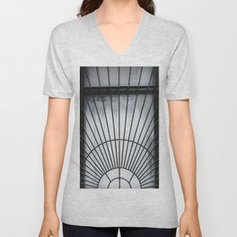 Caged In Manhattan Unisex V-Neck