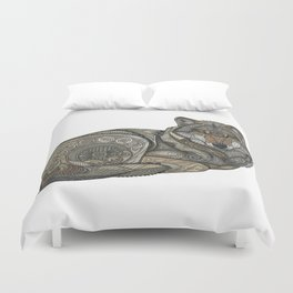Norse Wolf Duvet Cover