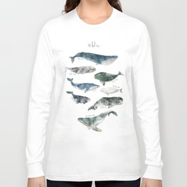Whales Long Sleeve T-shirt