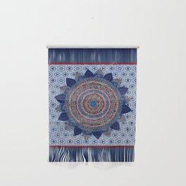 Baroque Lapis Mandala Wall Hanging