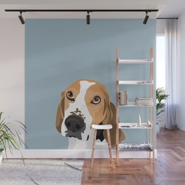 Cooper the dog Wall Mural