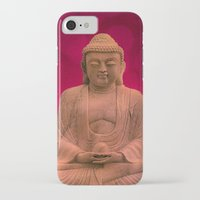 meditation iPhone & iPod Cases featuring meditation by hannes cmarits (hannes61)