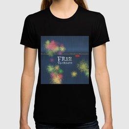 Denim Jeans - Free To Create T-shirt