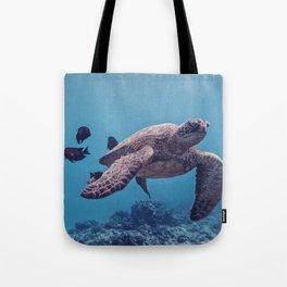 Sea Turtles In The Deep Tote Bag