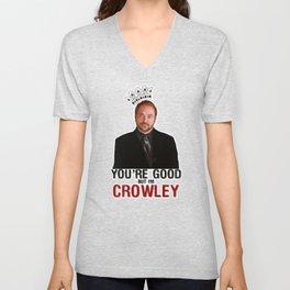 I'm Crowley - Supernatural Unisex V-Neck