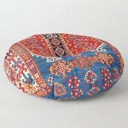 Kazak Southwest Caucasus Carpet Fragment Print Floor Pillow