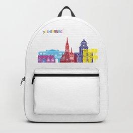 Gothenburg skyline pop Backpack