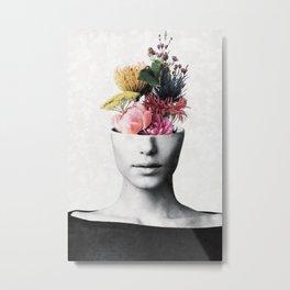 Flowery beauty Metal Print