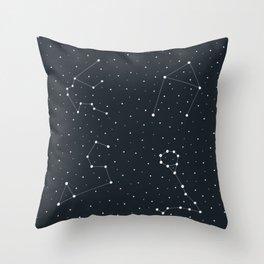 Zodiac Sign Pattern Throw Pillow