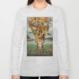 The Mind of Wes Anderson Long Sleeve T-shirt