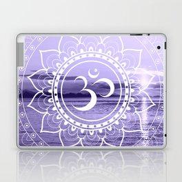 Water Om Mandala Lavender Laptop & iPad Skin