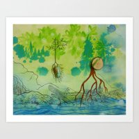 Old Growth Cove Art Print