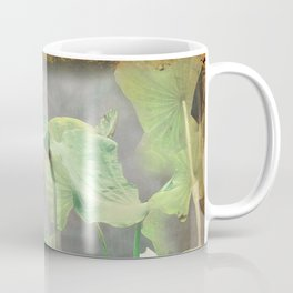 Asiatic Flowers in Pale Pink Coffee Mug