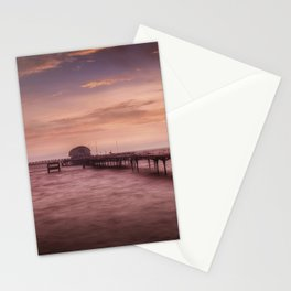 Daybreak at Mumbles Pier Stationery Cards