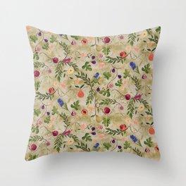 Vanitas Chintz Throw Pillow