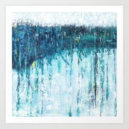 Blue Horizon Art Print