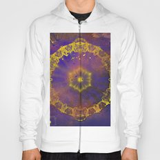 Abstract wheel of fortune Hoody