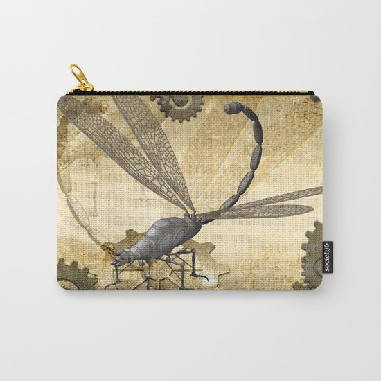 Steampunk, dragonflies Carry-All Pouch