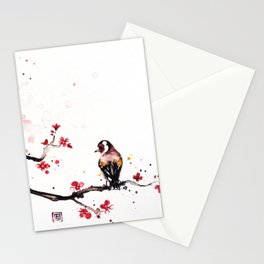 """The tiny wings """"The goldfinch"""" Stationery Cards"""