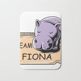 Feeling Hip Preemie Baby Hippo Fiona Team Fiona  Bath Mat