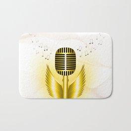 Music is soaring Bath Mat