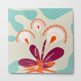 Bang Blooms Metal Print