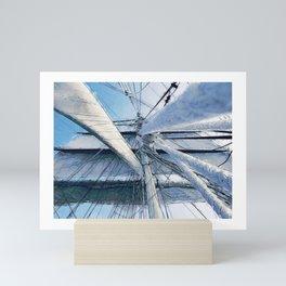 Nautical Sailing Adventure Mini Art Print