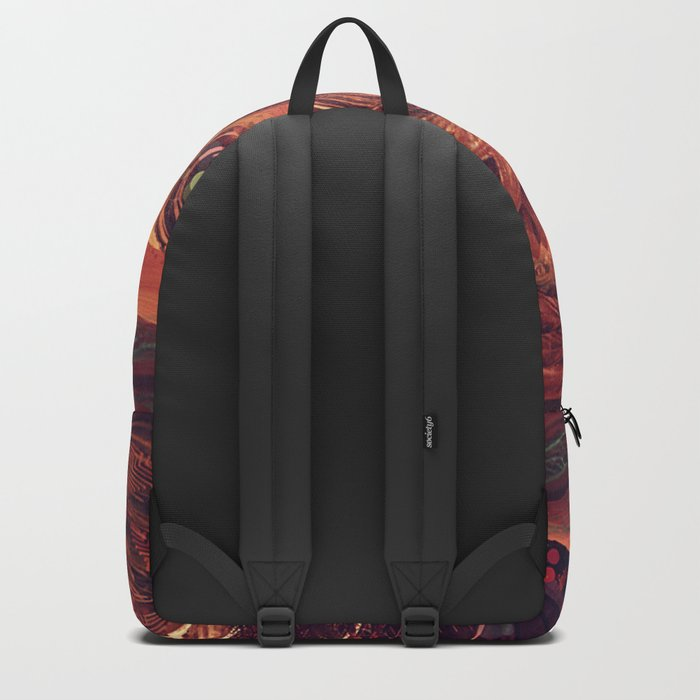 Shadow of a Thousand Lives - Visionary - Manafold Art Backpack