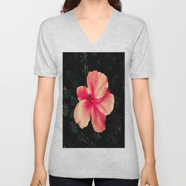 Beautiful Flower Unisex V-Neck