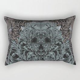 Skull Peaces Rectangular Pillow