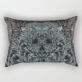 Skull Peaces Rectangular Pillow
