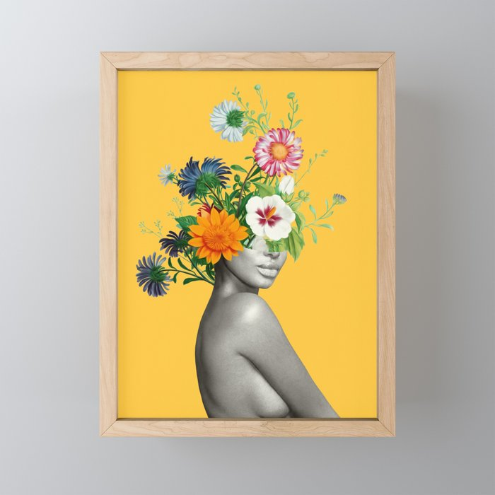 Bloom 5 Framed Mini Art Print