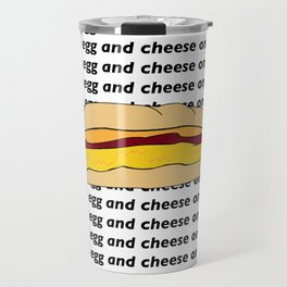 bacon egg and cheese Travel Mug