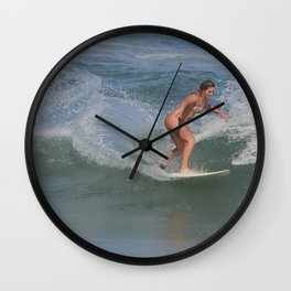 Ponce Inlet November Beauty Wall Clock