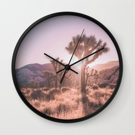 Southwest California Wall Clock