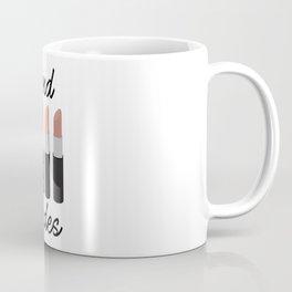 Send Nude Lipsticks Coffee Mug