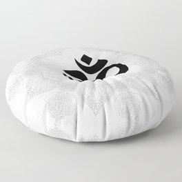 Om Mandala Floor Pillow
