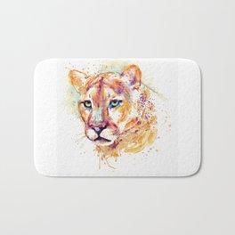 Cougar Head Bath Mat