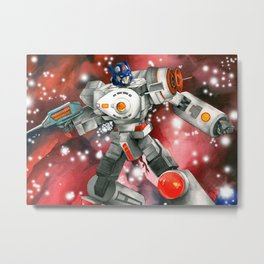 Boldly Transform Metal Print