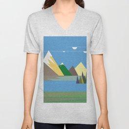 Hills Unisex V-Neck