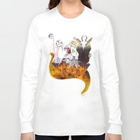 hell Long Sleeve T-shirts featuring hell by any giant