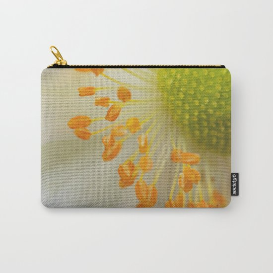 Green and Fluffy Carry-All Pouch