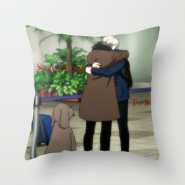 Stay Close To Me - Yuri On ice Throw Pillow