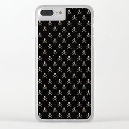 Skulls Mini Clear iPhone Case