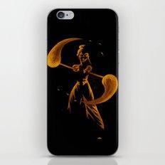Fire Dancer iPhone & iPod Skin