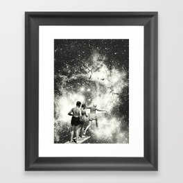 Welcome to Jump Framed Art Print