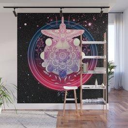 Hummingbird Mandala Wall Mural