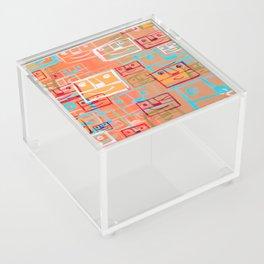 Many Faces Acrylic Box