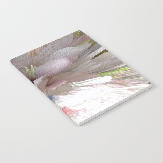 Abstract apple tree Notebook